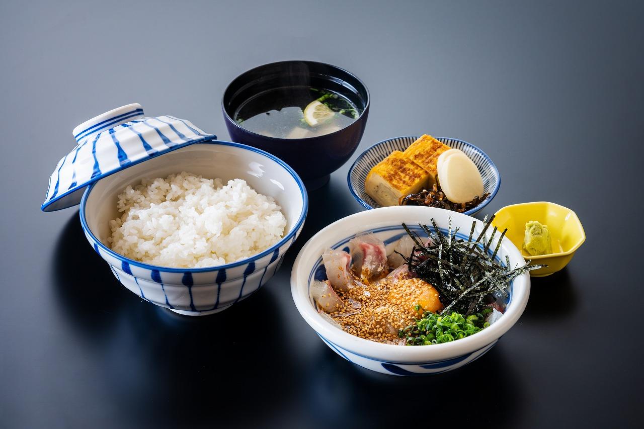 白寿真鯛のひゅうが飯